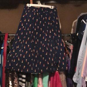 Designer inspired skirt and top